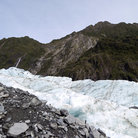 Picture - Up close on the Franz Josef Glacier.