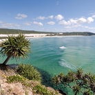 Picture - View from Indian Head on Fraser Island.