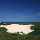 Picture - View across Fraser Island.