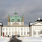 Picture - Castle of Fredensborg on a sunny winter day.