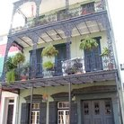 Picture - Balconies in the French Quarter, New Orleans.