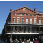 Picture - Typical building in the French Quarter of New Orleans.