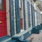 Picture - Entrance ways in the French Quarter of New Orleans.