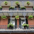 Picture - Balcony in the French Quarter, New Orleans.