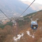 Picture - Cable car at at Owakudani, Hakone.