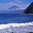 Picture - The coast of Izu and Mount Fuji.
