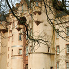 Picture - A tower of Fyvie Castle.