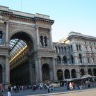 Picture - The Galleria in Milan.