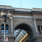 Picture - Arch of the Galleria Vittorio Emanuele II in Milan.