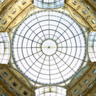 Picture - The central dome of the Vittorio Emanuele II gallery in Milan.