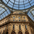 Picture - The unique interior of Galleria Vittorio Emanuele in Milan.
