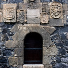 Picture - A doorway of the stone San Miguel Castle in Garachico.