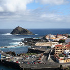 Picture - View over the coastal town of Garachico.