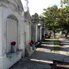 Picture - Tombs in the Garden District of New Orleans.