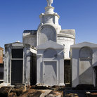 Picture - St. Louis Cemetery, opened in 1789, New Orleans.