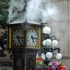 Picture - Steam clock in Gastown in Vancouver.