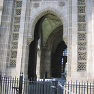 Picture - The Gateway of India, built in honey coloured basalt.