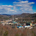 Picture - View over Gatlinburg.