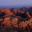 Picture - Scenery of the Sinai Desert from Gebel Musa.