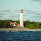 Picture - A lighthouse in Georgian Bay.