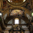 Picture - Interior of Gesu Church in Rome.