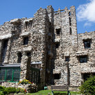 Picture - The old Gillette Castle in Gillette Castle State Park.