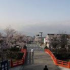 Picture - The city of Kofu in spring.