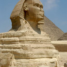 Picture - Sphinx at Giza.