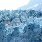 Picture - Detail of the ice from Margerie Glacier in Glacier Bay National Park.
