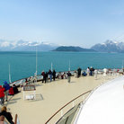 Picture - Cruising in Glacier Bay National Park.