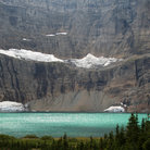 Picture - Iceberg Lake in Glacier National Park.