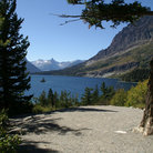Picture - Wild Goose Island in Glacier National Park.