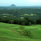 Picture - View from the Glass House Mountains.