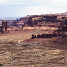 Picture - Rocky landscape seen from the Hite Overlook, Glen Canyon National Recreation Area.