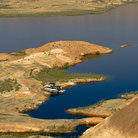 Picture - Aerial view of Lake Powell in the Glen Canyon National Recreation Area.