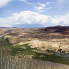 Picture - Hite Marina at Lake Powell in Glen Canyon National Recreation Area, Utah.