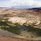 Picture - Landscape of Hite Overlook in Glen Canyon National Recreation Area, Utah.