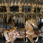 Picture - Antique carousel in Glen Echo, Maryland.