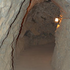 Picture - Underground passage at Glenwood Caverns.