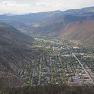 Picture - View over the town of Glenwood Springs.