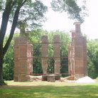 Picture - Ruins of Rosewell Mansion in Gloucester, Virginia.