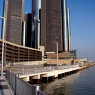Picture - Detroit's Renaissance Center on the River.