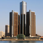 Picture - GM Renaissance Center, Detroit, Michigan.