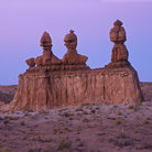 Picture - Rock formations at Goblin Valley State Park.
