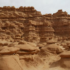 Picture - Typical scenery in Goblin Valley State Park.