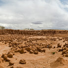 Picture - Overview of Goblin Valley State Park, Utah.