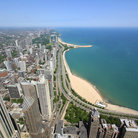 Picture - The Gold Coast located on the Near North Side of Chicago.