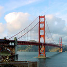 Picture - Golden Gate Bridge in San Francisco.