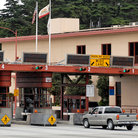 Picture - Toll plaza, Golden Gate Bridge, San Francisco.