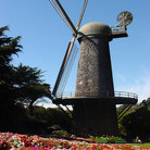 Picture - San Francisco's historical Dutch Windmill, Golden Gate Park.